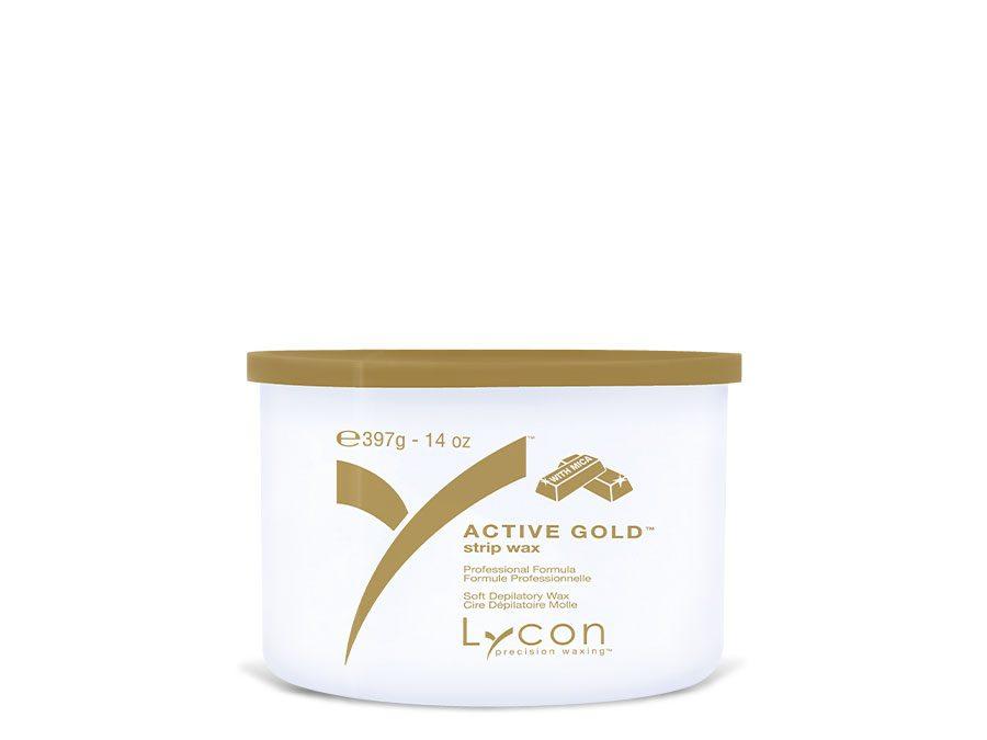 ACTIVE GOLD STRIP WAX TIN