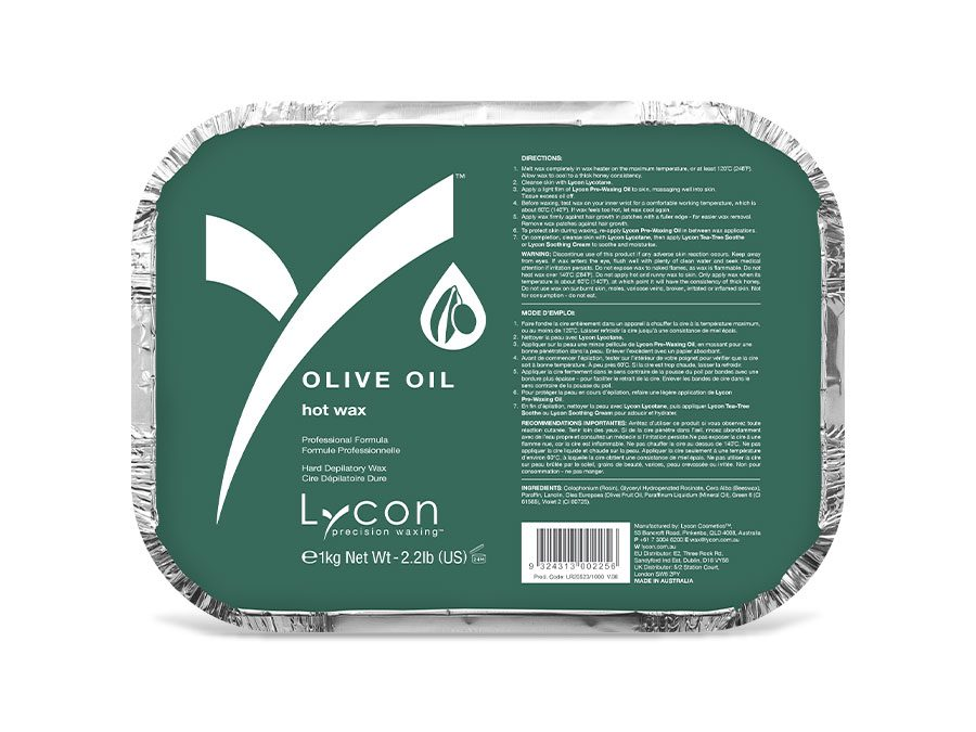 OLIVE OIL HOT WAX